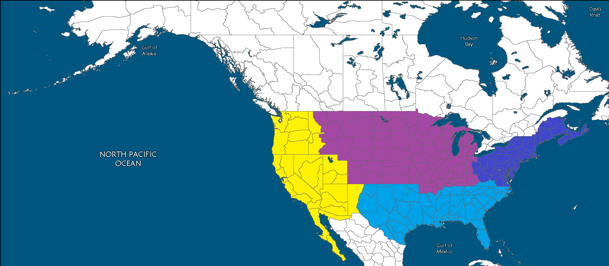 Second American Civil War A New Europe Future FANDOM Powered - Map of the us during civil war