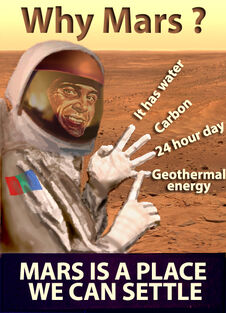 Mars relocation programme