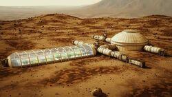 Mars base