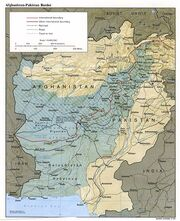 488px-Durand Line Border Between Afghanistan And Pakistan