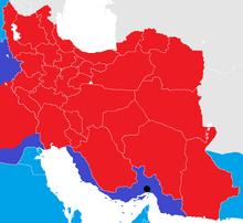 Iran War map 1