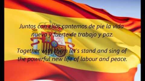"Spanish National Anthem - ""La Marcha Real"" (ES EN)"