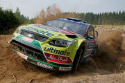 Neste Oil Rally 2010 - Jari-Matti Latvala in shakedown