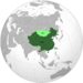 People's Republic of China (orthographic projection) Future map game 3