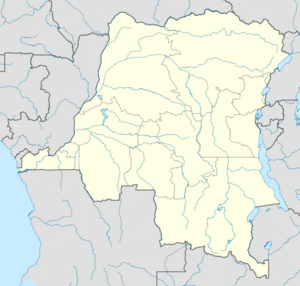 Democratic Republic of the Congo location map