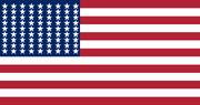 US flag 81stars