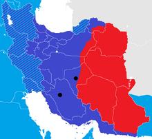 Iran War map 8