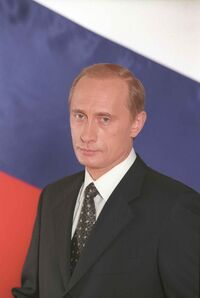 Vladimir Putin official portrait
