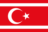 Turk Republic flag