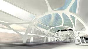 Inside future bridge