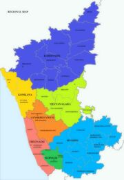 New States India Map 1