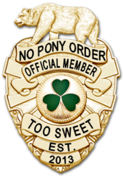 NPo badge