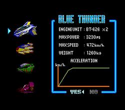 BS F-Zero Blue Thunder