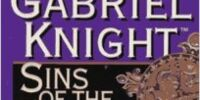 Gabriel Knight: Sins of the Fathers Novel