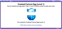 Ci FortuneEgg cracked