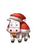 Santa cow
