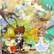 Skittles Heaven Themed Room