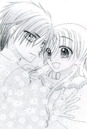 Natsume Touching Mika/lljn's Hair!