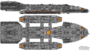 Olympia Subclass Battlehip