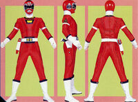Red Turbo Ranger Form