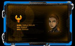 Character-box-galaxy-on-fire-2-dr-carla-paolini-scientist-genius-professor