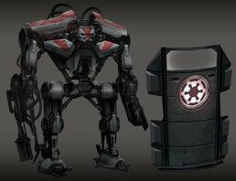 Incinerator War Droids