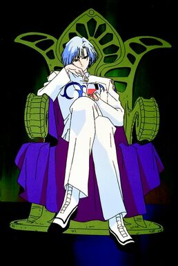 Prince Diamond in a Throne