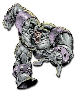 Rhino Angry