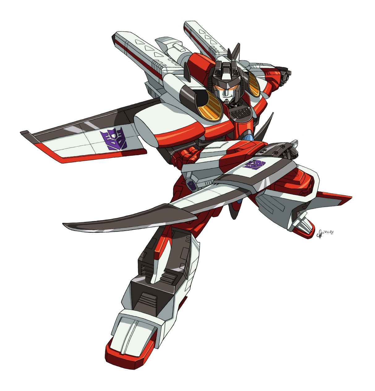 Armada Starscream by arok318 Transformers Energon Starscream