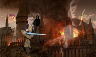 Martian Threat of Hogwarts