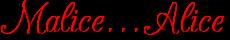 Malicealice wordmark