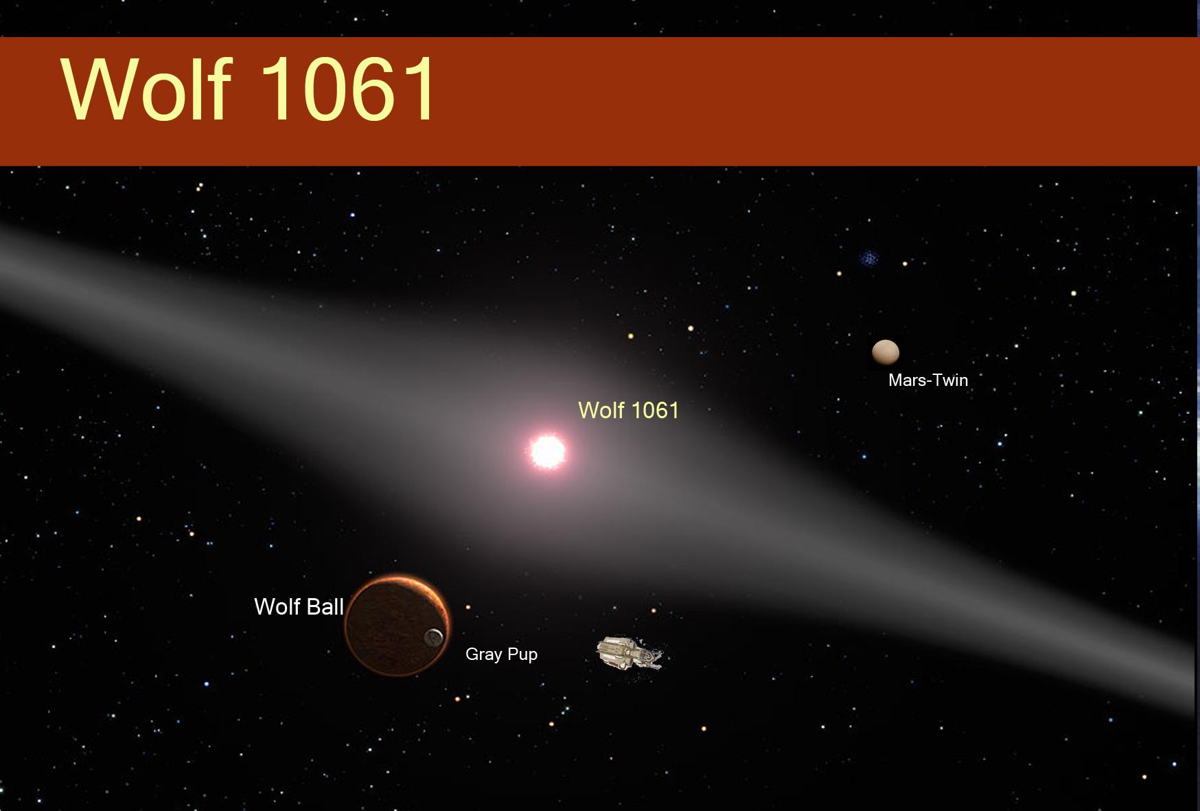 Resultado de imagem para Wolf 1061 fotos