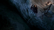 Lord Snow tyrion pisses off the wall 1x03