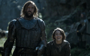 Arya and Sandor - The Mountain and the Viper