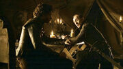 Robb Stark and Roose Bolton