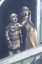 Robin and Sharra seeing Visenya