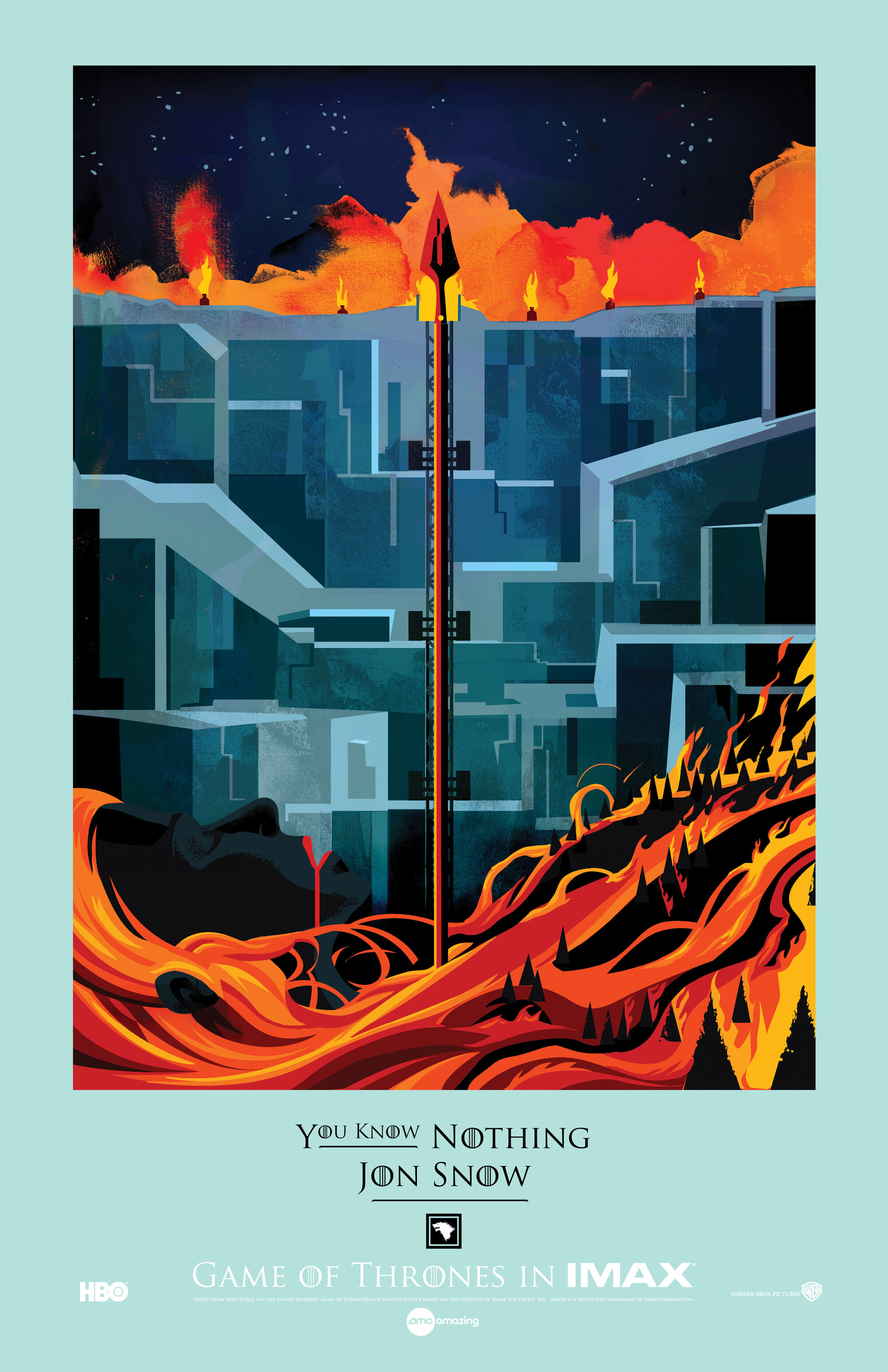 Poster design game - Image Game Of Thrones Imax Poster The Watchers On The Wall 663x1024 Artwork By Robert Ball Jpg Game Of Thrones Wiki Fandom Powered By Wikia