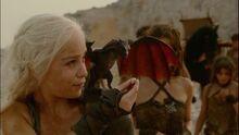 Daenerys & Drogon 2x01.jpg