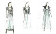 Dark Sansa costume concept art