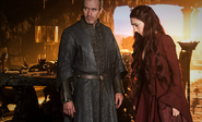 Stannis and Melisandre Mhysa