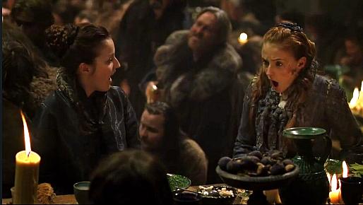 File:Winter is Coming Sansa food Arya.png