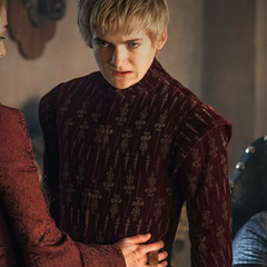 Cersei, Joffrey, and Varys in