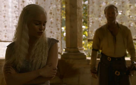 Daenerys and Jorah 2x08