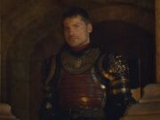Jaime at Cerseis coronation