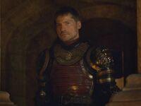 Jaime at Cerseis coronation