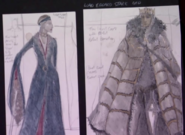 Eddard and Catelyn costumes early concept art