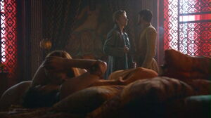 401 Oberyn Ellaria at brothel kissing Marei