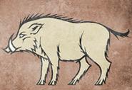 Crakehall heraldry