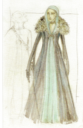 Catelyn Stark costume Season 1 concept art