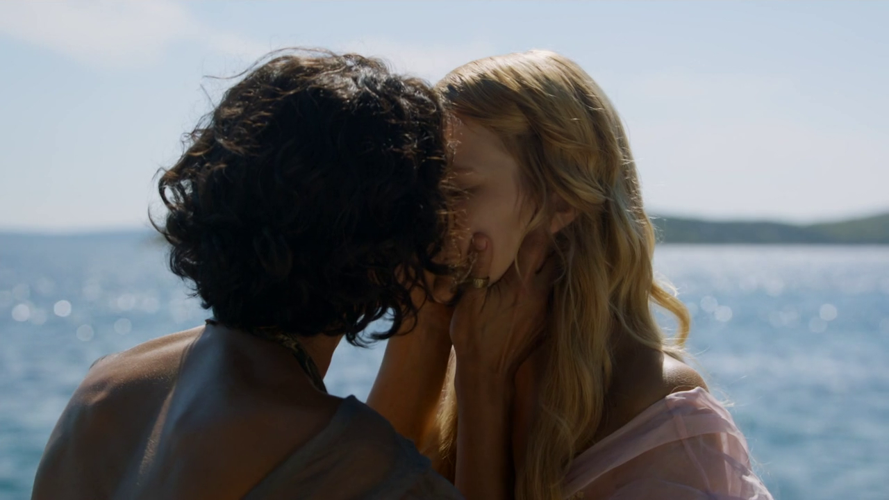 Image result for game of thrones season 5 indria kisses myrcella